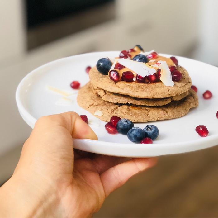 Pancakes Avena Banana