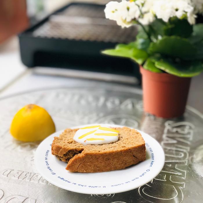 Queque de limón Sin Gluten