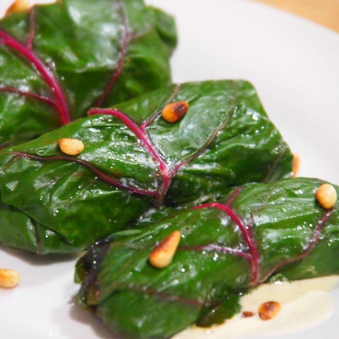 Bollos de verduras y espinaca