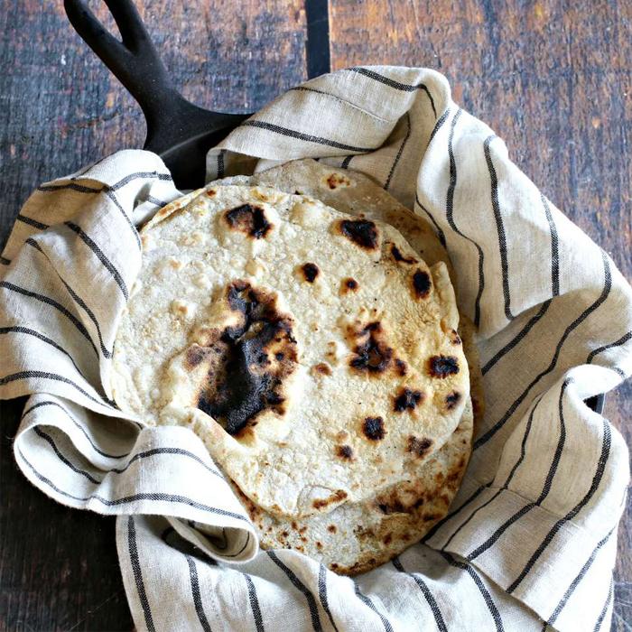 Chapati: pan indio (sin levadura)