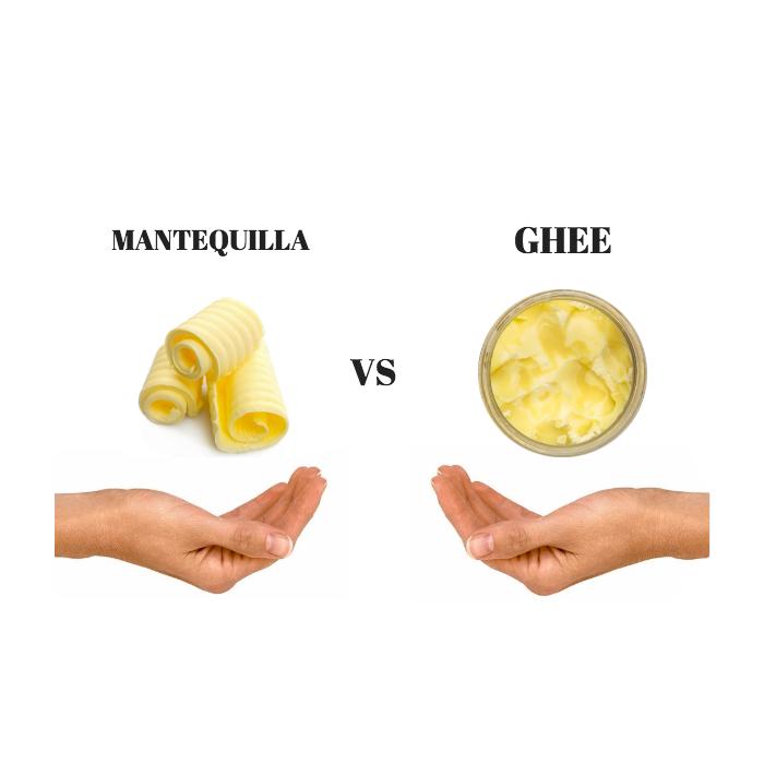 La clásica pregunta: ¿Mantequilla o Ghee?⠀
