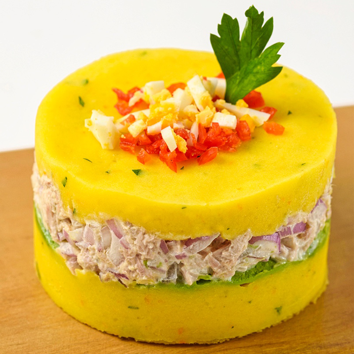 Causa limeña low carb