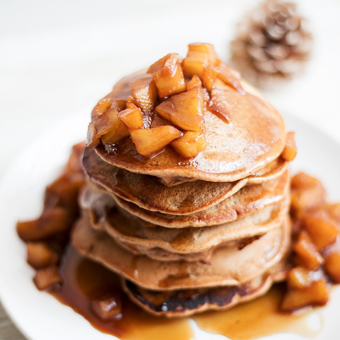 Pancakes de avena Proteicos